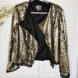 Sparkly Jacket from Aryn K Size L